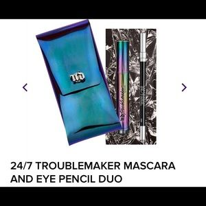 Urban decay troublemaker mascara and eyeliner duo